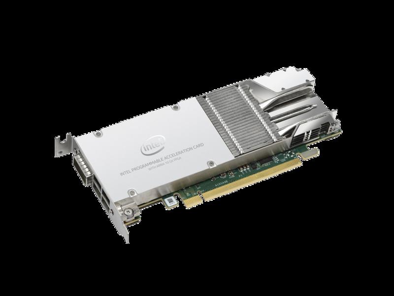 Intel Arria 10 GX FPGA Accelerator Left facing