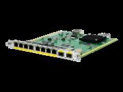 HPE FlexNetwork MSR Switch-HMIM-Kombimodul: 10/100/1000BASE-T, 8 Anschlüsse/1000BASE-X, 2 Anschlüsse