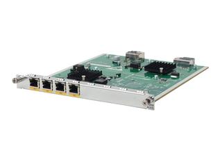HPE MSR 4-ports Gig-T HMIM Module Left facing