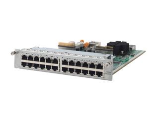 HPE MSR 24-ports Gig-T Switch HMIM Module Left facing