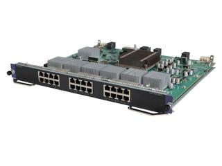 HPE FlexNetwork 10500 24 端口 1/10GBASE-T SF 模块 Left facing