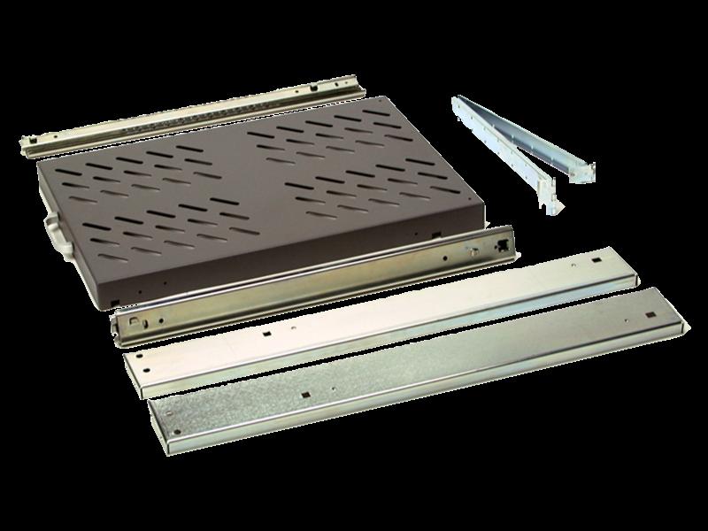 HPE Aruba 2530 8port Switch Power Adapter Shelf Right facing