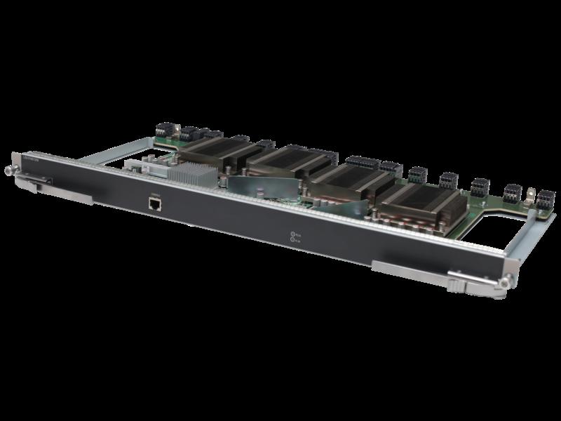 HPE 10512 3.44Tbps Type D Fabric Module Left facing