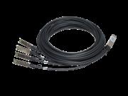 HPE X240 40G QSFP+ to 4x10G SFP+ 3m直接接続銅スプリッター ケーブル