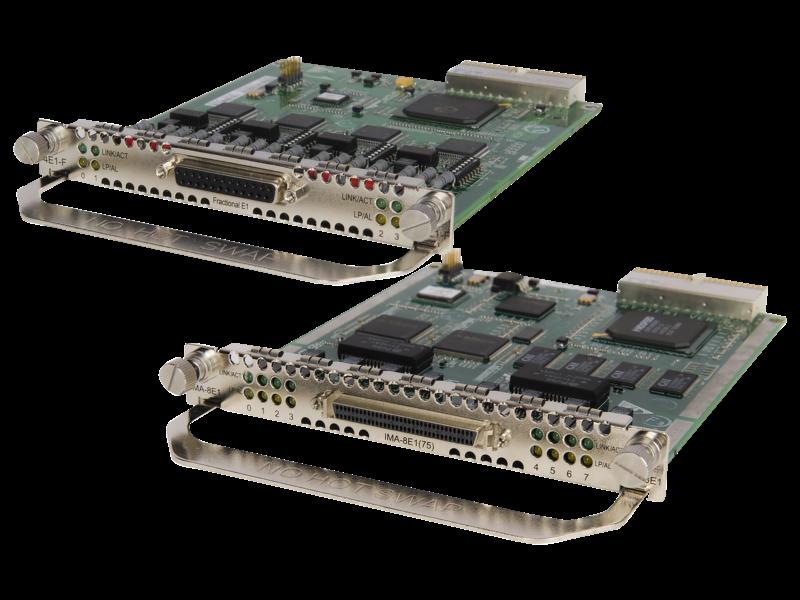HPE FlexNetwork HSR6800 Clear Channel T3 MIM-Modul mit 1 Anschluss Center facing