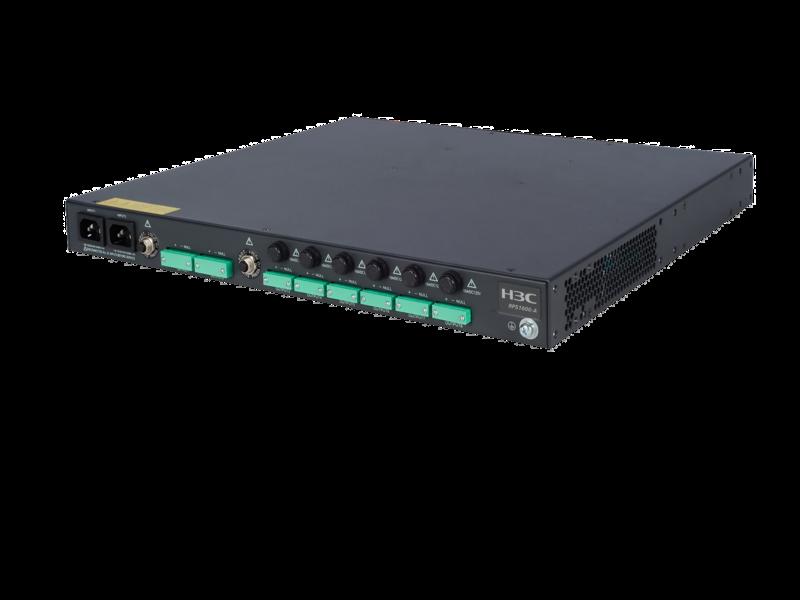 HPE RPS1600 Redundant Power System Left facing