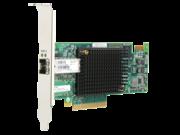 Adaptador de bus host Fibre Channel HPE StoreFabric SN1100E de 16 Gb y puerto único