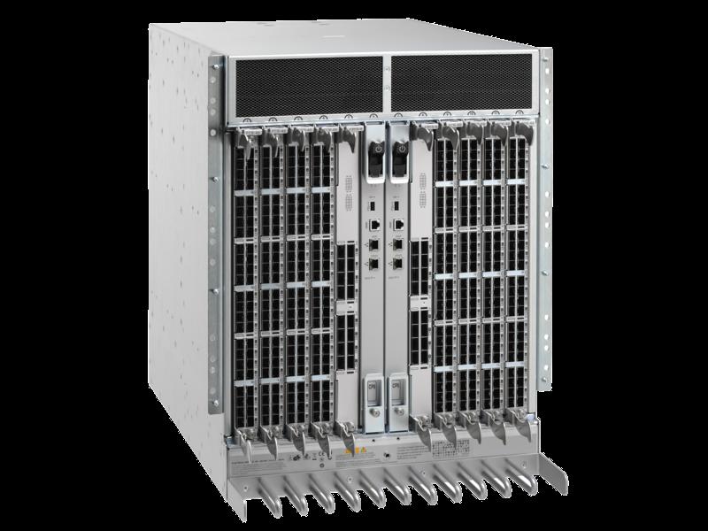 HPE StoreFabric SN8000B 8スロット電源パック+ SANバックボーンディレクタースイッチ Right facing