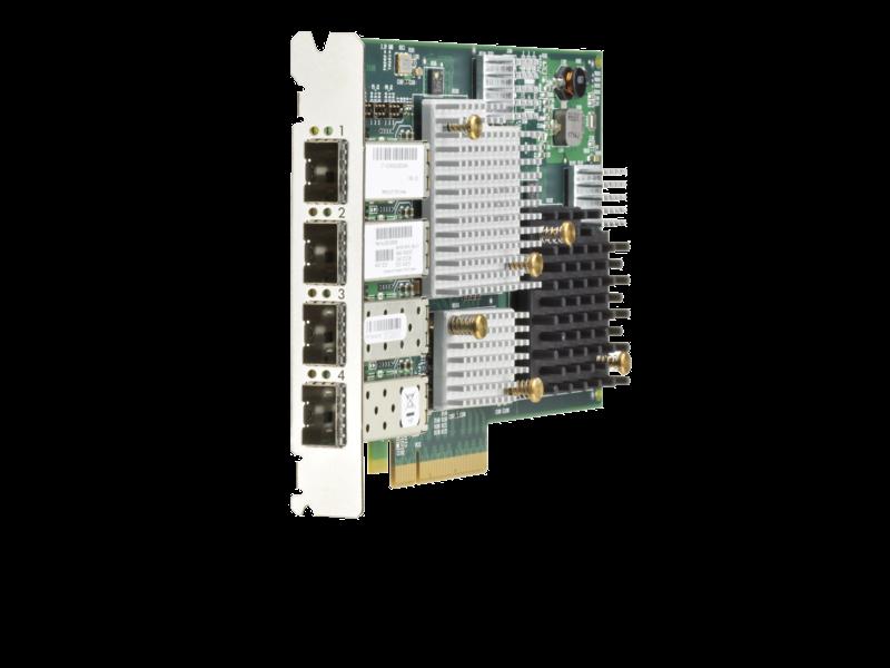 HPE 3PAR StoreServ 20000 4-port 12Gb SAS Upgrade Host Bus Adapter Right facing