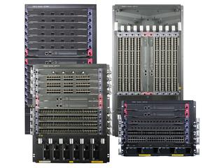 Gamme de commutateurs HPE FlexNetwork 10500 Hero