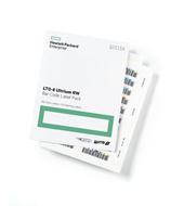 HPE Q2015A LTO-8 Ultrium RW Bar Code Label Pack