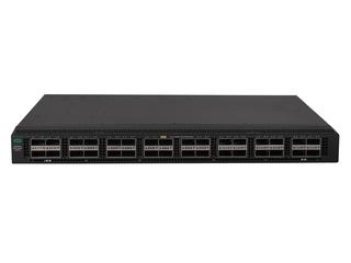 HPE FlexFabric 5945 32QSFP28 交换机 Center facing