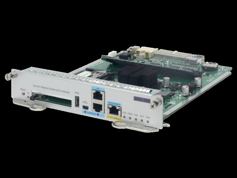 HPE FlexNetwork MSR4000 MPU-100 Main Processing Unit