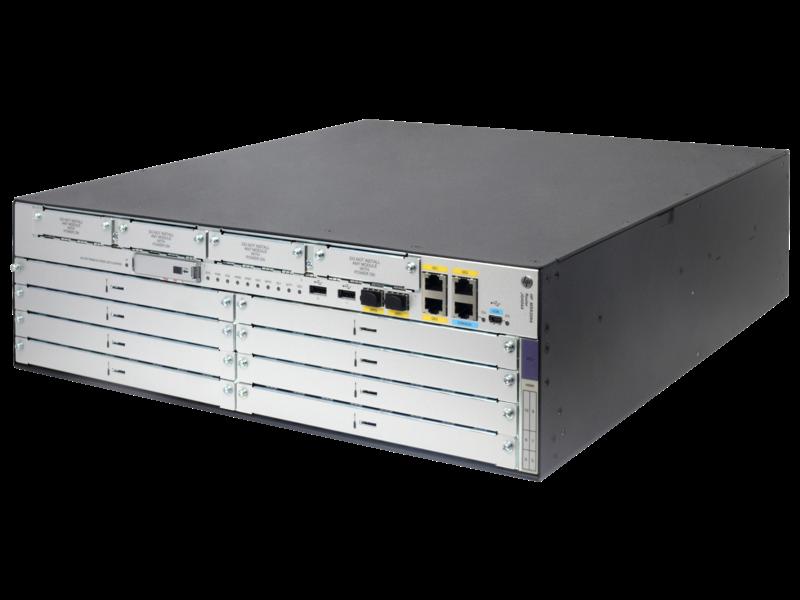 HPE FlexNetwork MSR3064 Router Left facing