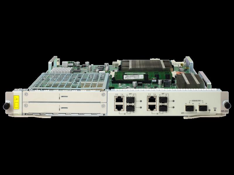 HPE FlexNetwork HSR6800 FIP-310 Flexible Interface Platform-Modul Center facing