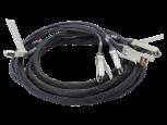 Cabo separador de cobre de conexão direta HPE BladeSystem c-Class 40G QSFP+ para 4x10G SFP+ de 3 m