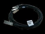 Cabo de cobre de conexão direta HPE X240 QSFP28 4xSFP28 5m