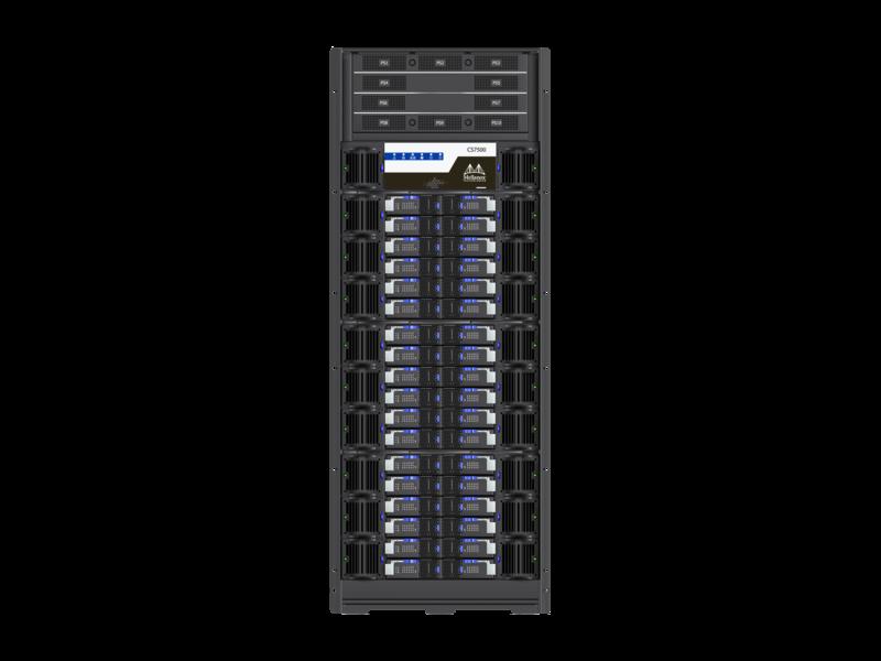 Mellanox InfiniBand EDR Switch-Gehäuse mit 648 Anschlüssen