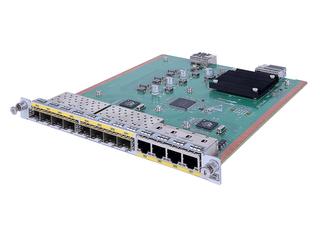 HPE MSR 8port BASE-X/4port Combo L2/L3 HMIM Module Left facing