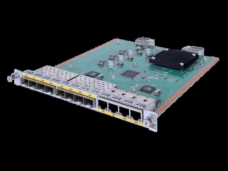 HPE FlexNetwork MSR 8-port 100BASE-FX/1000BASE-X/4-port 1000BASE-T (Combo) L2/L3 HMIM Module