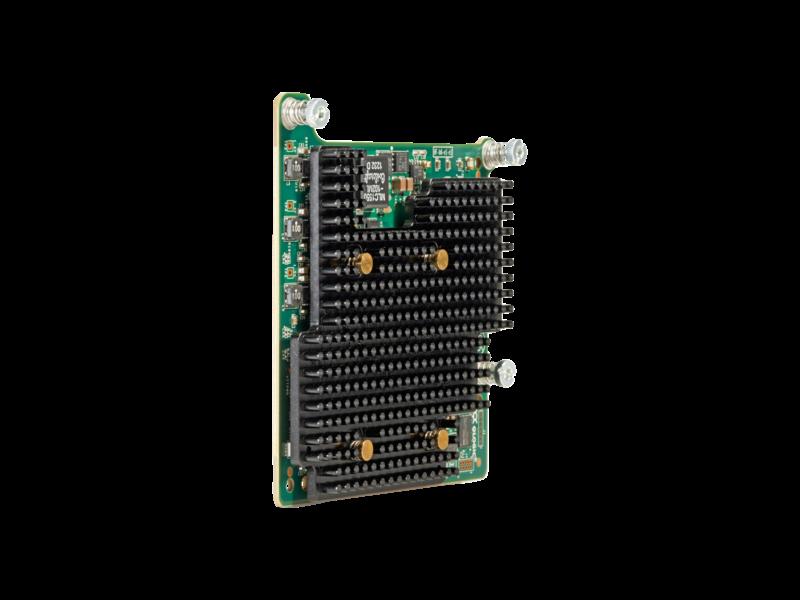 Adattatore HPE FlexFabric 20 Gb a 2 porte 630M Right facing