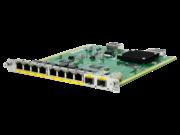 Коммутационный модуль HPE FlexNetwork MSR, 8 разъемов 10/100/1000BASE-T / 2 комбинированных разъема 1000BASE-X HMIM