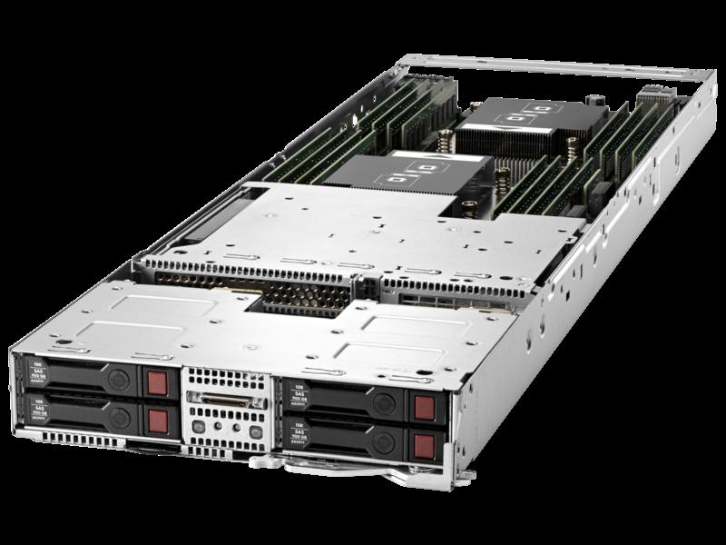 Server HPE ProLiant XL230a Gen9 Left facing