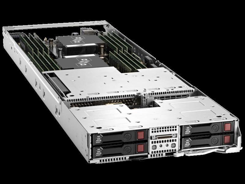 Server HPE ProLiant XL230a Gen9 Right facing