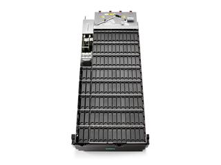 HPE D8000シングルI/OモジュールLFF (3.5インチ) 高密度ディスクエンクロージャー Top view open