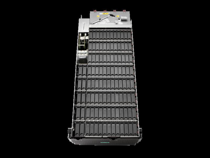 """Carcasa de gran densidad de discos HPE D8000 con un módulo de E/S LFF (3,5"""""""")"""