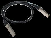 Câble en cuivre à connexion directe HPE X242 40G QSFP+ à QSFP+ de 1 mètre
