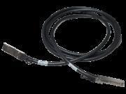 Câble en cuivre à connexion directe HPE X242 40G QSFP+ à QSFP+ de 3 mètres