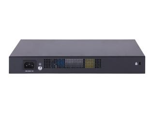 HPE FlexNetwork MSR958 1GbE 和 Combo 2GbE WAN 8GbE LAN 路由器 Rear facing