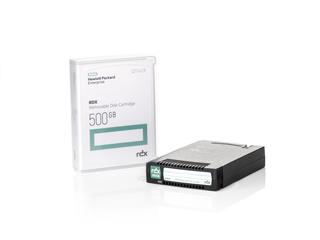 HPE RDX 500GBリムーバブルディスクカートリッジ Center facing