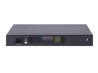 HPE FlexNetwork MSR958 1GbE 和 Combo 2GbE WAN 8GbE LAN PoE 路由器 Rear facing