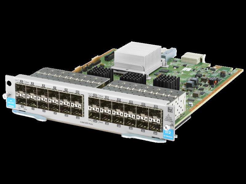 HPE FlexNetwork 7500 SFP mit 44 Anschlüssen GbE/SFP/SFP+ mit MACsec SE-Modul mit 4 Anschlüssen, 10GbE