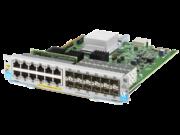 Module Aruba 12 ports 10/100/1000BASE-T PoE+ et 12 ports 1GbE SFP avec MACsec v3 zl2