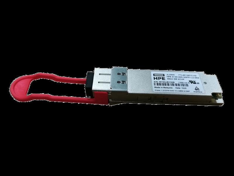 HPE X140 40G QSFP+ LC ER4 40km SM Transceiver Center facing