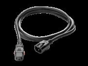 Cordon d'alimentation à verrouillage HPE C13 - C14 WW 250 V, 10 Amp, 0,7 m, noir
