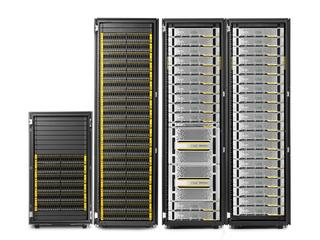 Système de stockage HPE 3PAR StoreServ 20000 Center facing