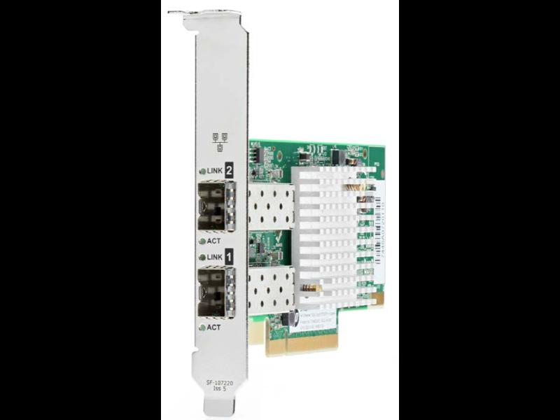 HPE Ethernet 10 GB 2 Bağlantı Noktalı SFP+ X710-DA2 Adaptör