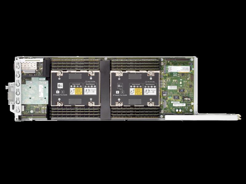 HPE ProLiant XL170r Gen10 Server Top view open