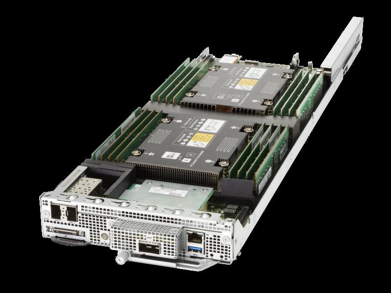 HPE ProLiant XL170r Gen10 Server Left facing