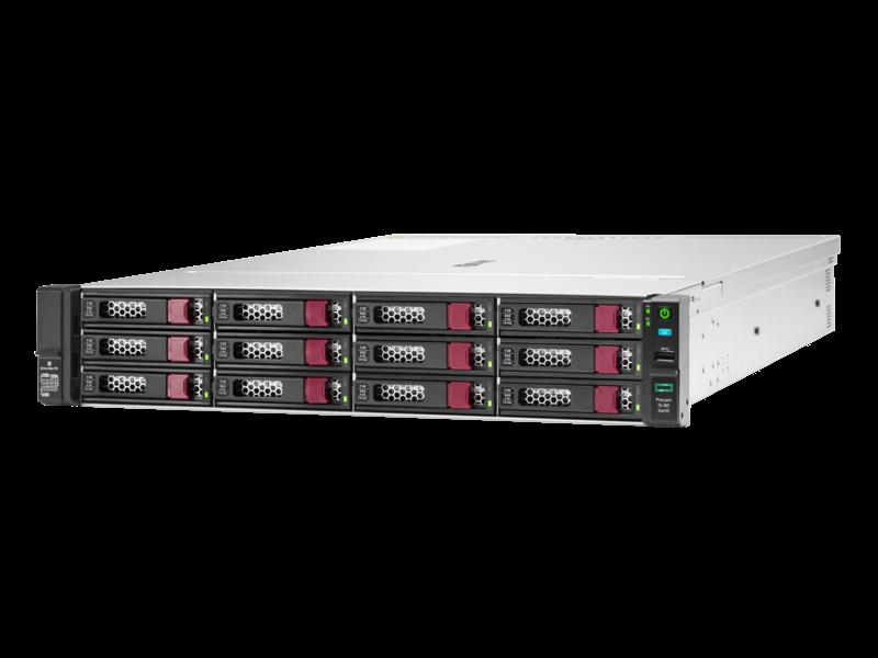 HPE ProLiant DL180 Gen10 4208 1P 16GB-R P408i-a 12LFF 500 瓦电源服务器 Left facing