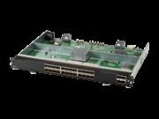 Aruba 6400 24 端口 SFP+ 和 4 端口 SFP56 模块