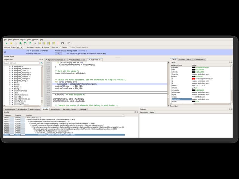 Arm High Performance Computing Tools Detail view
