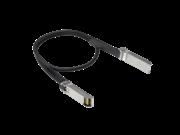 Cable de cobre de conex. directa de 0.65 m Aruba 50G de SFP56 a SFP56