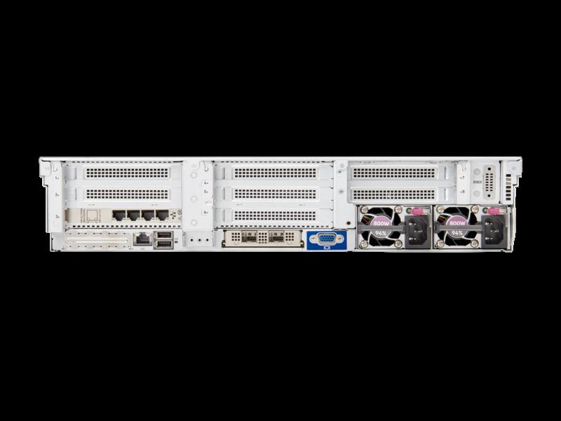 Servidor HPE ProLiant DL385 Gen10 Plus Rear facing