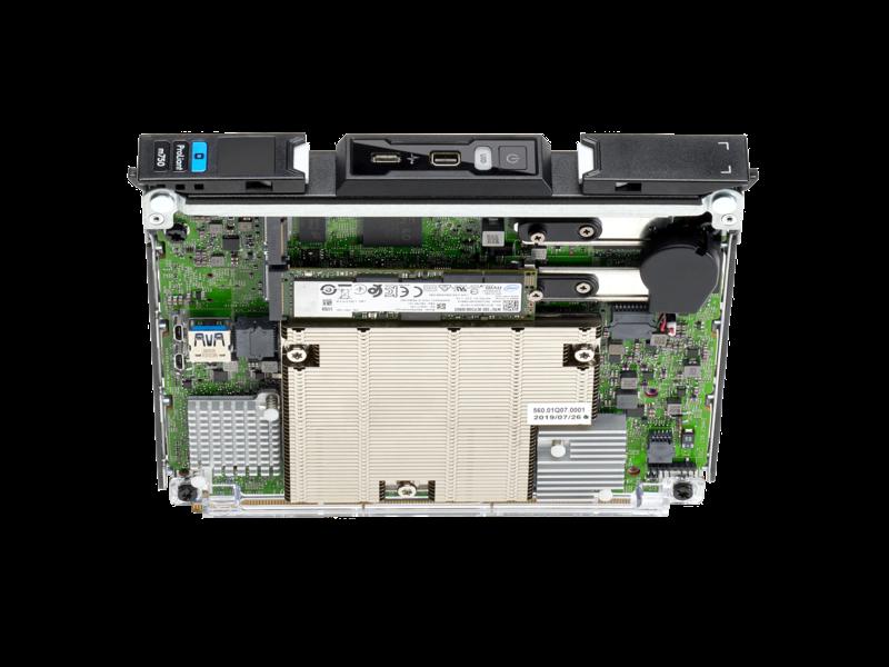 Lame serveur HPE ProLiant m750 Top view open