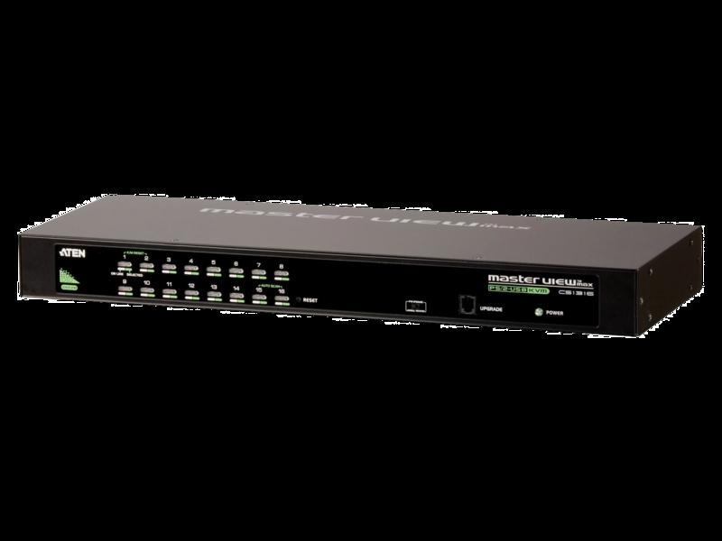 HPE Standard Analaog KVM ATEN KVMサーバーコンソールスイッチ G2 Center facing
